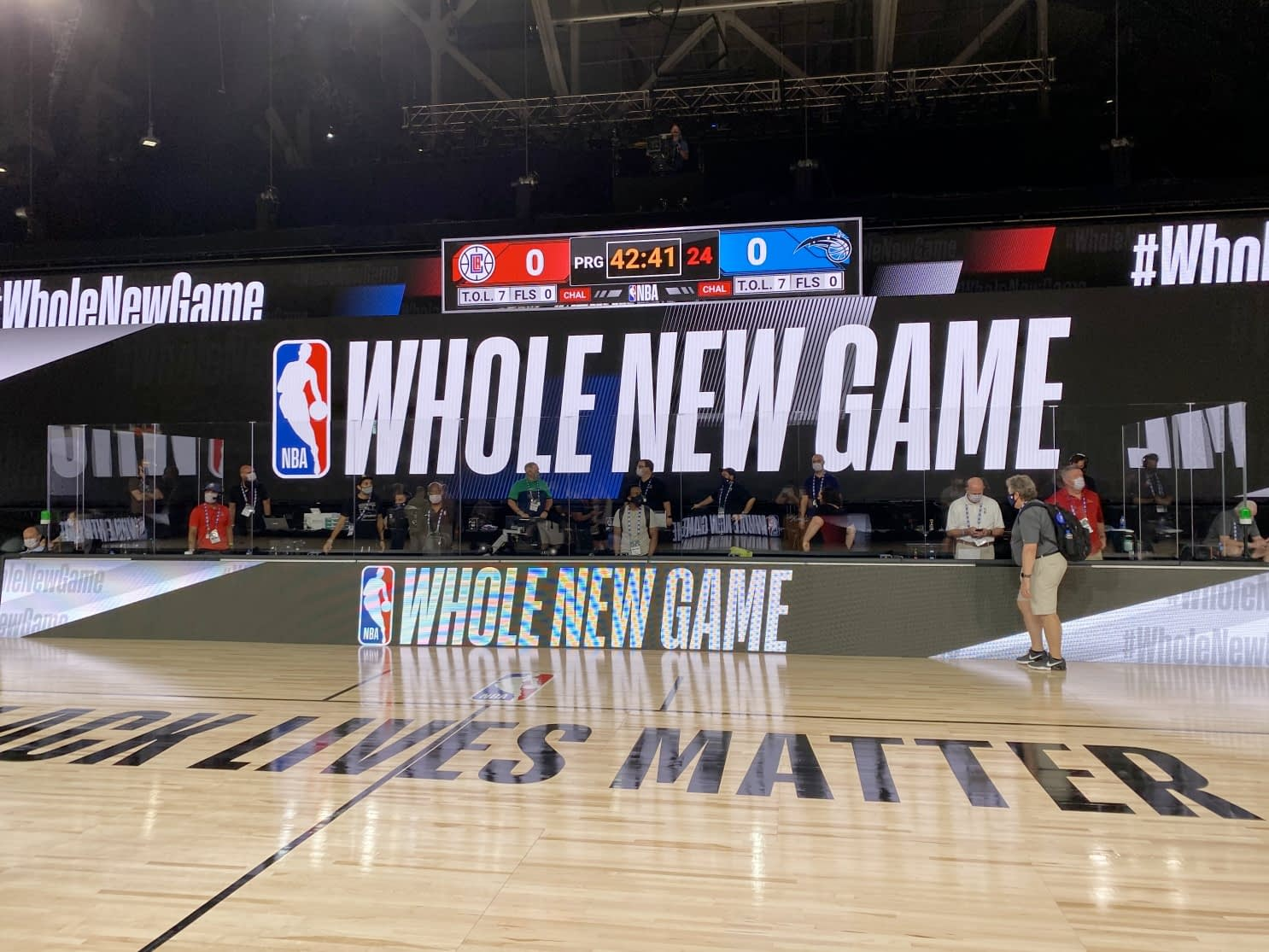 NBA bubble