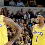 LeBron James and Kentavious Caldwell-Pope