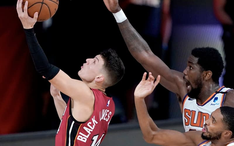 The Suns smother the Heat